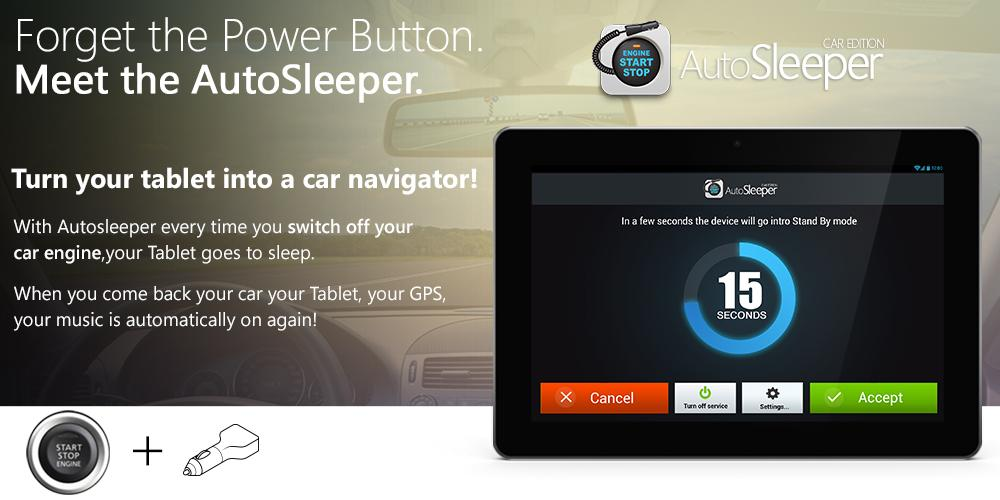 Autosleeper Auto power ON-OFF- screenshot