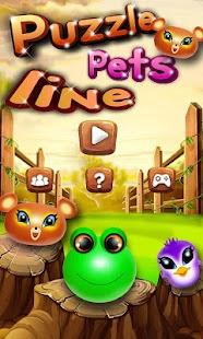 Puzzle Pets Line Screenshot 1