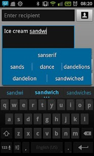 Bulgarian for ICS keyboard - screenshot thumbnail