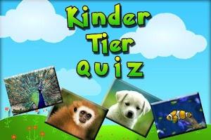 Screenshot of ★ Tier Quiz Kinder ★