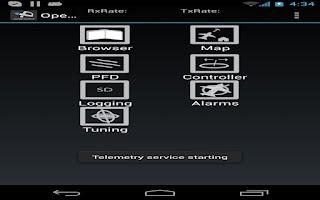 Screenshot of OpenPilot GCS
