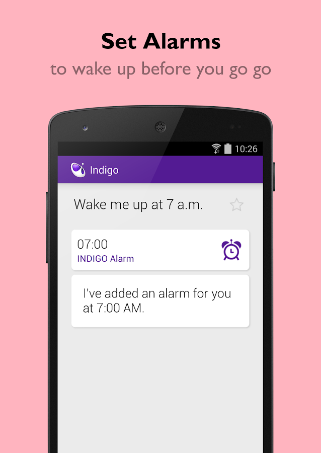 Indigo Virtual Assistant- screenshot