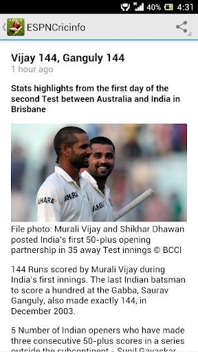 【免費運動App】Cricket News & Live Scores-APP點子