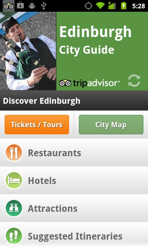 Edinburgh City Guide screenshot #1
