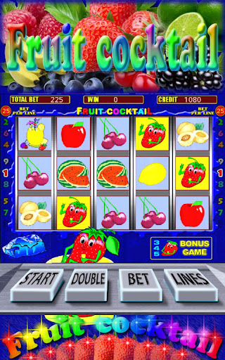 Fruit Cocktail Slots Screen Capture 1
