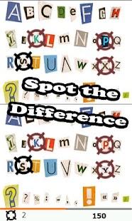 SPOT IT: Najdi rozdíly - náhled