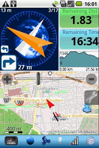 Run.GPS UVPro TRIAL Android1.6 - screenshot