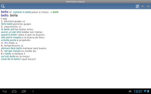 how to say hi in italian google translate