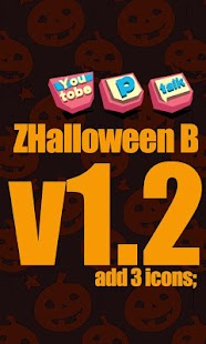 ZHalloweenB GO Launcher Theme - screenshot thumbnail