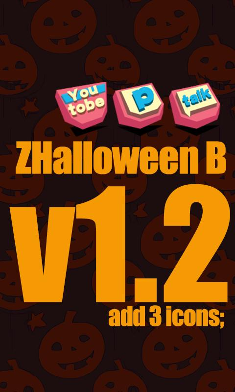 ZHalloweenB GO Launcher Theme - screenshot