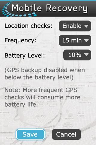 Mobile Recovery - screenshot