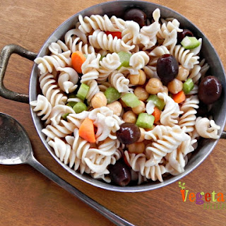 Summer Pasta Salad – #glutenfree #vegan