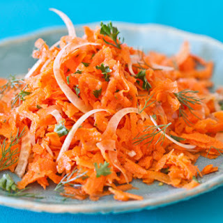 French Carrot Fennel Salad.