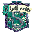 Harry Potter Slytherin Clock logo