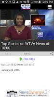 Screenshot of WTVA News