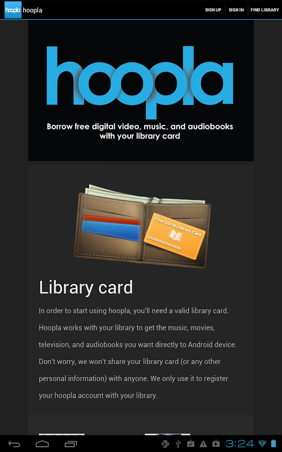 Hoopla Digital - screenshot