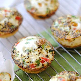 Clean Egg & Zucchini Muffins.