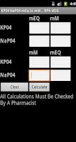 Screenshot of Phosphate Converter