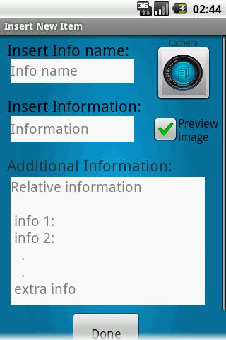 【免費工具App】Personal Info Organizer-APP點子
