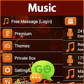 GO SMS Pro Music