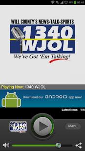 1340 WJOL - screenshot thumbnail