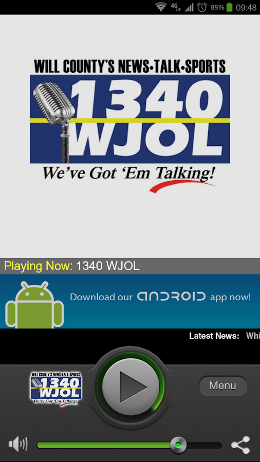 1340 WJOL - screenshot