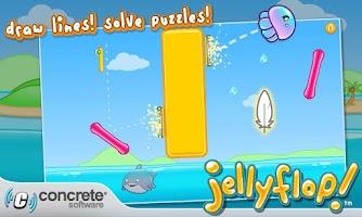 Screenshot of Jellyflop!