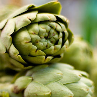 Artichokes Basted with Anchovy Butter