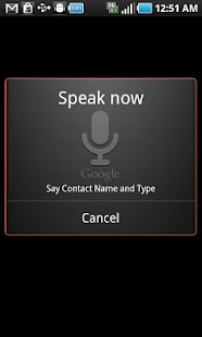 CGX Voice Dialer- screenshot thumbnail