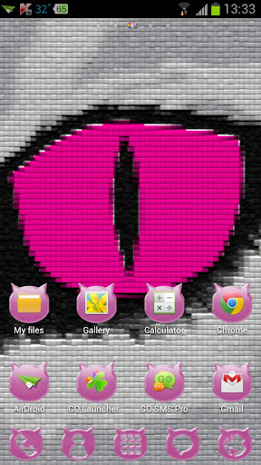 Pink Cats Theme