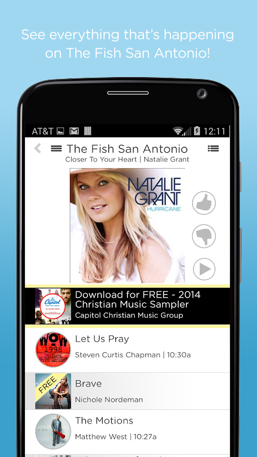 The fish san antonio android apps on google play for The fish radio station