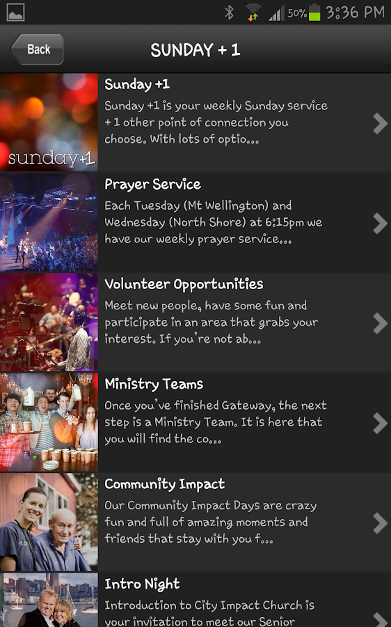 City Impact Church- screenshot