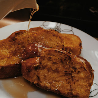 Melted Maple Walnut Ice Cream French Toast