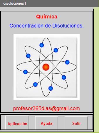 Química. Concentraciones.