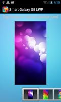 Screenshot of Galaxy S5 Smart LWP