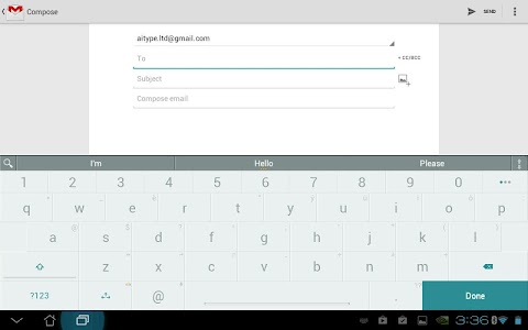 ai.type keyboard Free + Emoji v5.1