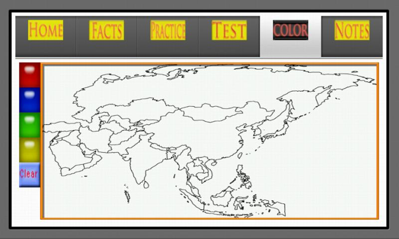 Asia Map Quiz Android Apps on Google Play