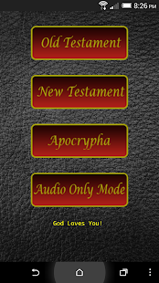 Audio Bible (KJV)- screenshot thumbnail