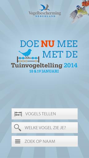 Tuinvogeltelling versie 2014