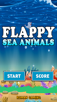 Flappy Sea Animals apk screenshot