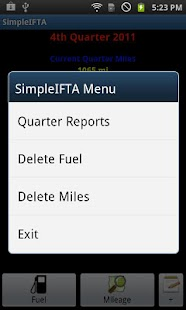 SimpleIFTA Trucking IFTA Log - screenshot thumbnail