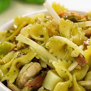 Bow-Tie Pasta Salad with Chicken.