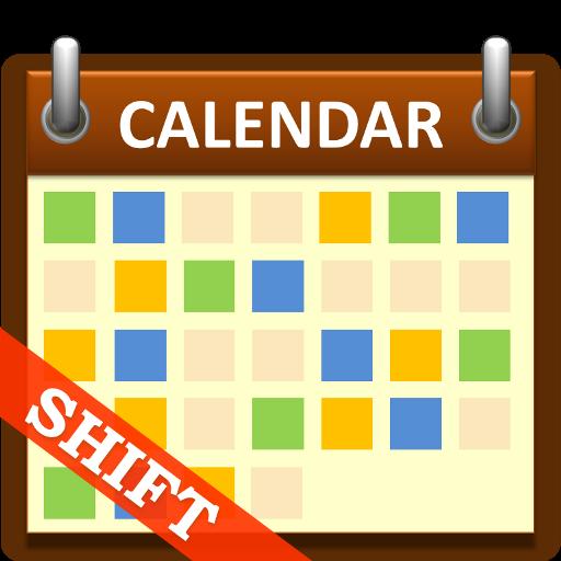 Calendar App Logo : Shift calendar【商業app玩免費】 app點子