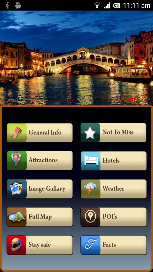Venice Offline Travel Guide- screenshot