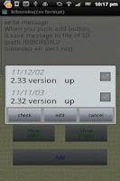 Screenshot of biboroku(csv format)