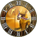 Anubis egyptian clock logo