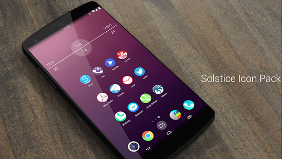 Solstice (adw apex nova icons) - screenshot thumbnail