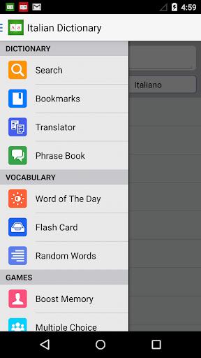 Italian Dictionary +