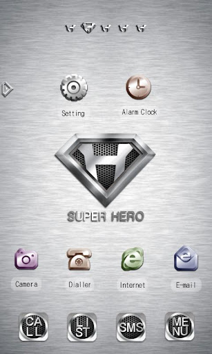 CUKI Theme Super Hero Style