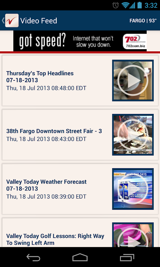 VNL News - screenshot
